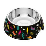 FuzzYard Dog Bowl Bel Air Black