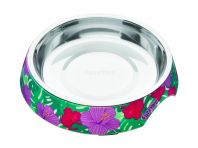 FuzzYard Cat Bowl Lahania Green Floral