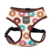 FuzzYard Go Nuts Cream Dog Harness