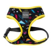 FuzzYard Dog Harness Bel Air Black