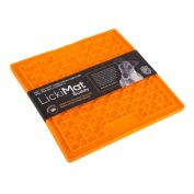 Lickimat Dog Buddy Anxiety Aid Orange