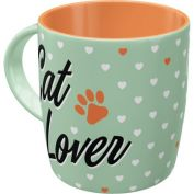 Nostalgic Art Cat Lover Ceramic Mug