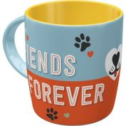 Nostalgic Art Friends Forever Ceramic Mug