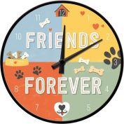 Nostalgic Art Friends Forever Wall Clock