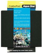Aqua One Carbo Pad Self Cut Filter Pad 25.4 x 45.7cm