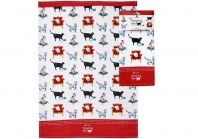 Ashdene Pampered Cats Kitchen Towel
