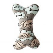 La Doggie Vita Sleeping Dog Plush Bone Dog Toy