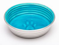 Loving Pets Le Bol Dog Bowl Seine Blue