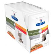 Hill's Prescription Diet Metabolic & Urinary Stress Pouches Feline 12x85g