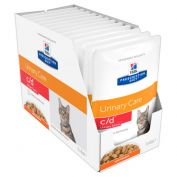 Hill's Prescription Diet C/D Multicare Urinary Stress Pouches Feline 12x85g