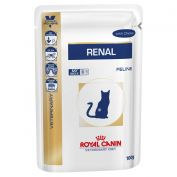 Royal Canin Veterinary Diet Renal Chicken Cat Food 12x85g
