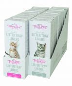 Trouble & Trix Litter Tray Liners Large 15 Pack