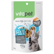VitaPet Duck & Fish Bites Cat Treat 85g