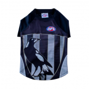 AFL Dog Tshirt Collingwood Magpies