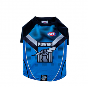 AFL Dog Tshirt Port Adelaide Power