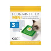 Catit 2.0 Senses Flower Cat Water Fountain Mini Cartridge 3 Pack