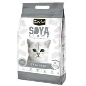 Kit Cat Soya Clumping Cat Litter Charcoal 7L