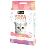 Kit Cat Soya Clumping Cat Litter Confetti 7L