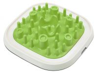 Savic Enigma Food Enrichment Puzzle Bowl Large Green