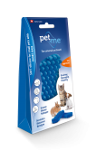 Pet & Me Silicone Brush Small Animal Short Hair Blue