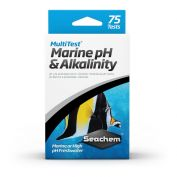 Seachem Fish Multitest Marine PH & Alkalinity 75 Pack