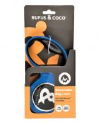 Rufus & Coco Retractable Dog Lead Large Blue