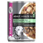 Eukanuba Beef & Vegetable Stew Adult Dog Wet Food 12x354g