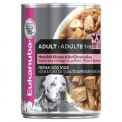 Eukanuba Mixed Grill Chicken & Beef Adult Dog Wet Food 12x354g