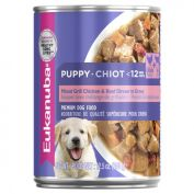 Eukanuba Mixed Grill Chicken & Beef Puppy Dog Wet Food 12x355g