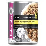 Eukanuba Chicken Rice & Vegetable Adult Dog Wet Food 12x375g