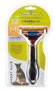 Furminator Short Hair Medium Dog Deshedding Brush Metallic