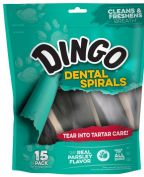 Dingo Dental Spiral Dog Treats 300g
