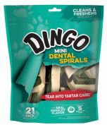 Dingo Dental Mini Spiral Dog Treats 147g