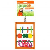 Jungle Talk Slide & Spin Bird Toy
