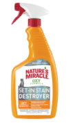 Nature's Miracle Set in Stain Cat Odour Destroyer 709ml