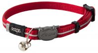 Rogz Alleycat 8mm Kitten Safeloc Collar Red