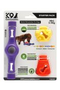 K9 Connectables Starter Pack Purple Dog Toy