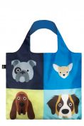 Loqi Shopping Bag Cats & Dogs Collection Dogs