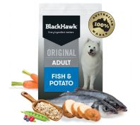 Black Hawk Adult Fish & Potato Dog Food