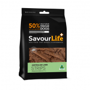 Savourlife Australian 165g Lamb Strips Dog Treats