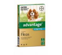 Advantage Flea Treatment for Medium Dogs 4-10kg