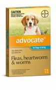 Advocate Flea, Heartworm and Worm Treatment for Dogs 4-10kg