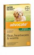 Advocate Flea, Heartworm and Worm Treatment for Dogs up to 4kg