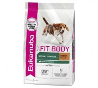 Eukanuba Adult Medium Breed Fit Body Dog Food 15kg