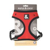 Rufus & Coco Soft Mesh Dog Harness Red