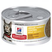 Hill's Science Diet Adult Urinary Hairball Control Canned Cat Food 82g x 24