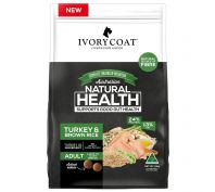 Ivory Coat Large Breed Adult Turkey & Brown Rice Dry Dog Food