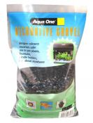 Aqua One Decorative Gravel 2kg Black 7mm