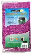 Aqua One Decorative Gravel 2kg Purple 7mm