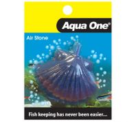 Aqua One Airstone Shell Fish Small 5cm x 3.5cm